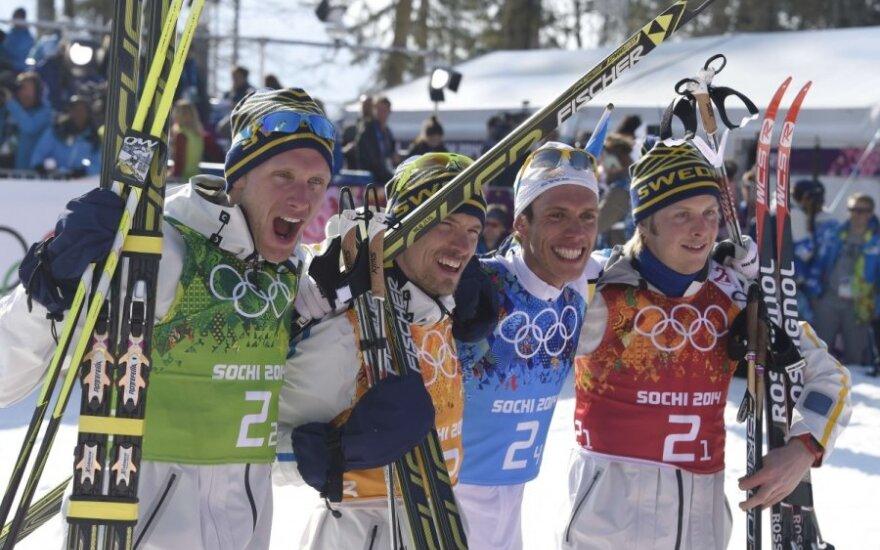 Švedijos slidininkai