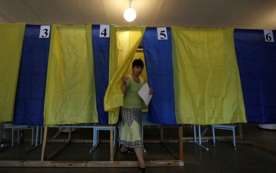 Ukrainos rinkimuose – kelios dešimtys Lietuvos stebėtojų