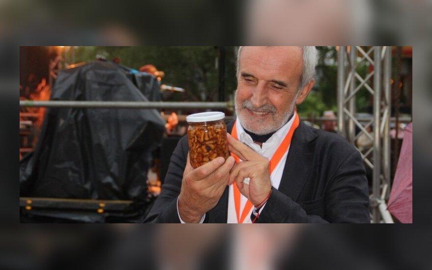 Druskininkuose inauguruotas teatro festivalio prezidentas Rimas Tuminas