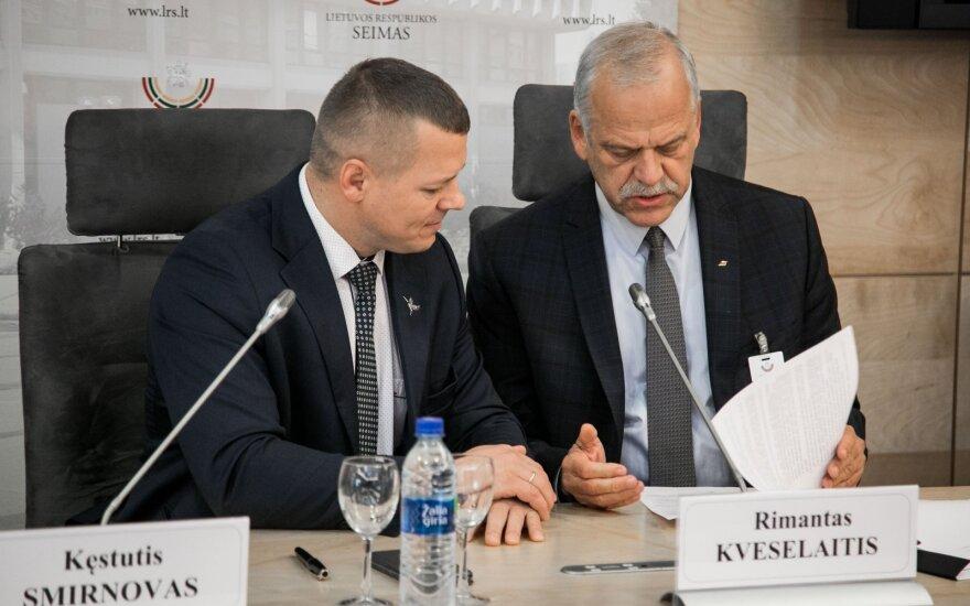 Kęstutis Smirnovas, Rimantas Kveselaitis