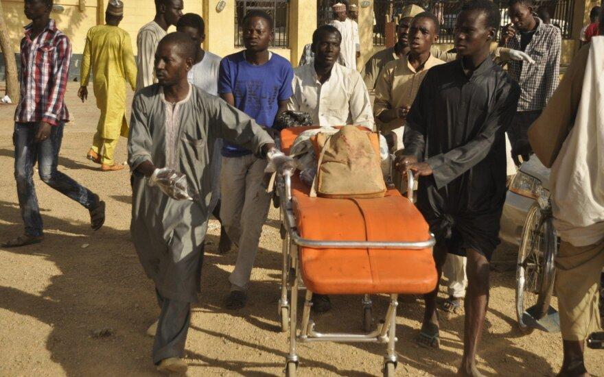 Nigerijoje per ginkluotų užpuolikų ataką žuvo 45 žmonės