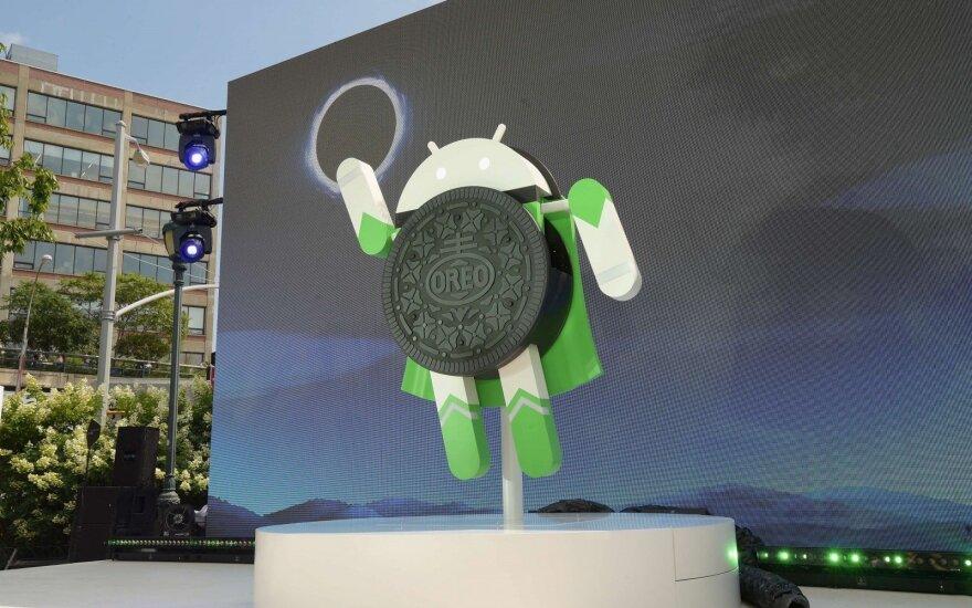 """""""Google"""" pristatė """"Android Oreo"""", skirtą biudžetiniams išmaniesiems telefonams"""