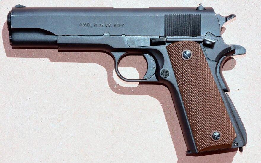 Kolto sistemos pistoletas M1911A1 (Antrojo pasaulinio karo modelio replika)