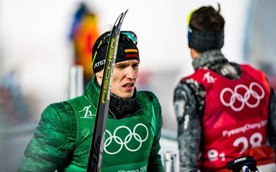Vyrų sprinto estafetė 6x1,4 km, Modestas Vaičiulis ir Mantas Strolia