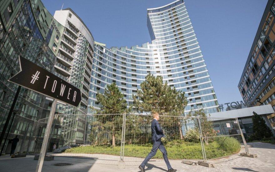 R. Šimašius visits #Tower appartments