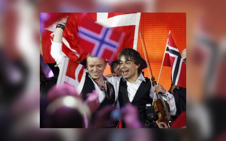 """""""Euroviziją 2009"""" laimėjo norvegai, Sasha Son(g) liko trečias nuo galo"""