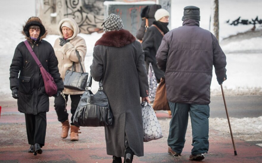 Pensioners to rally in Vilnius to demand higher pensions