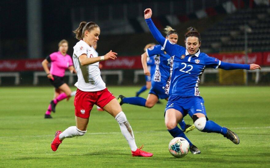 Moterų futbolo rungtynės