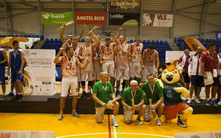 MRU krepšininkų triumfas