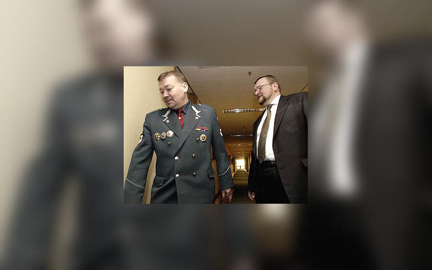 Vytautas Grigaravičius ir Juozas Bernatonis