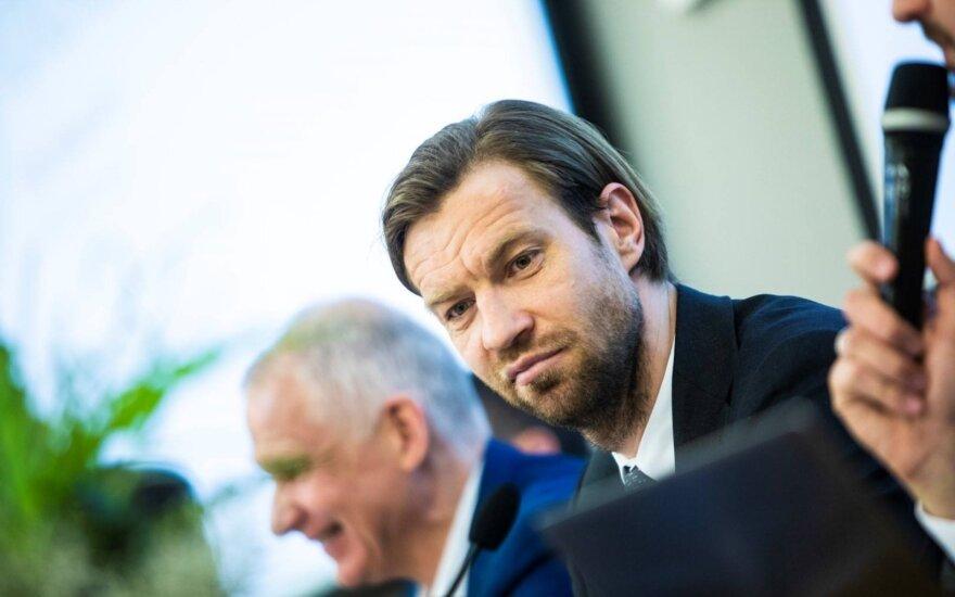 Kasparas Gorkšas (Latvijos futbolo federacijos nuotr.)