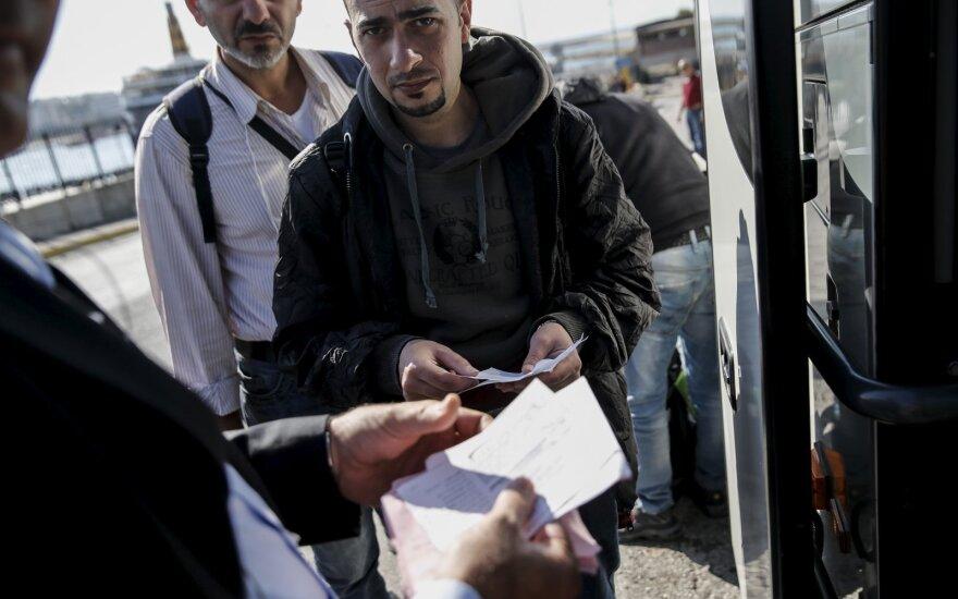 Pabėgėliai Klaipėdoje jau pradėjo žvalgytuves