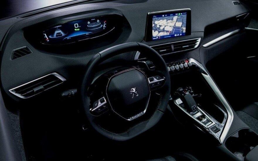 """""""Peugeot i-Cockpit"""" salonas"""