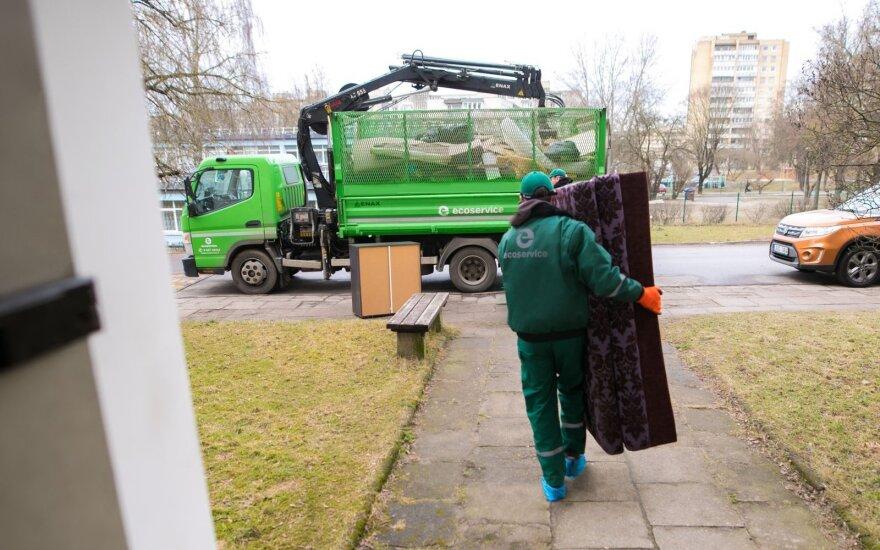 Ecoservice veža didelių gabaritų atliekas