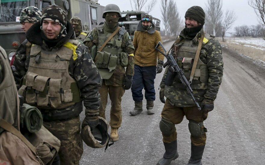 Prorusiški separatistai paleido dvi belaisves ukrainietes