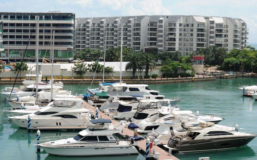 Jachtos Singapūre