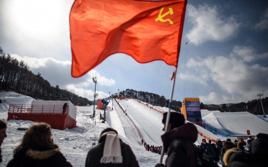 Sovietinė simbolika Pjongčango olimpinėse žaidynėse