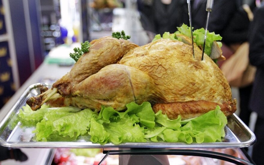 Kiek kalakutų per Padėkos dieną suvalgo amerikiečiai?