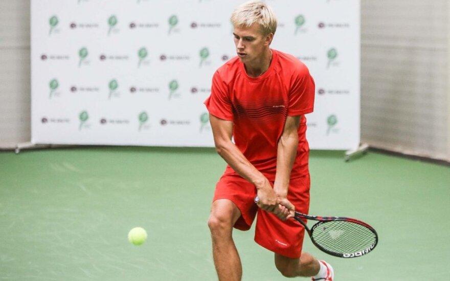 L. Mugevičius iškopė į ITF turnyro Turkijoje aštuntfinalį