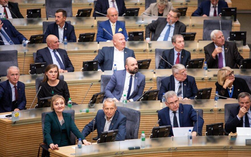 Politologai: vienintelė išeitis iš krizės Seime – pirmalaikiai rinkimai