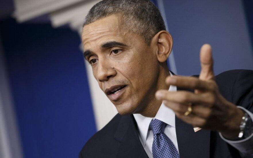 B. Obama: santykiai tarp rasių pagerėjo