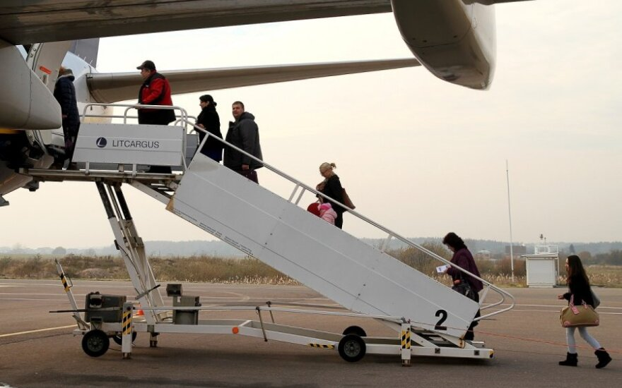 Mano baisiausias skrydis: kaip lėktuve prišalau prie sienos