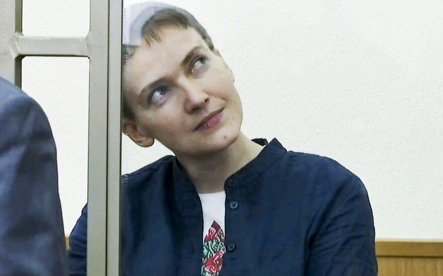 Ukrainian pilot Nadiya Savchenko