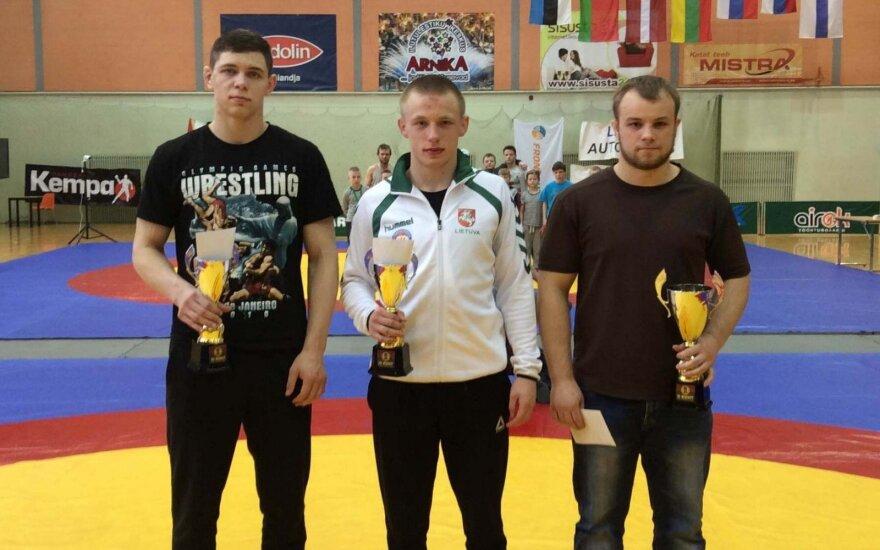 Domantas Pauliuščenka, Nikita Gerasimovas ir Mantas Kairys