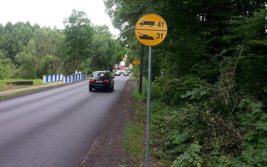 Kelio ženklai Lenkijoje