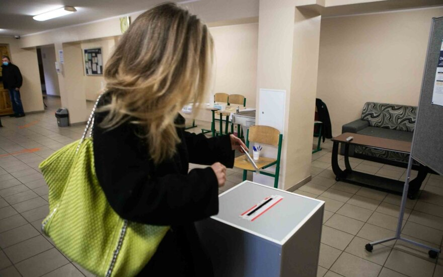 Rinkėjų aktyvumas Seimo rinkimuose didesnis nei 2016 m.