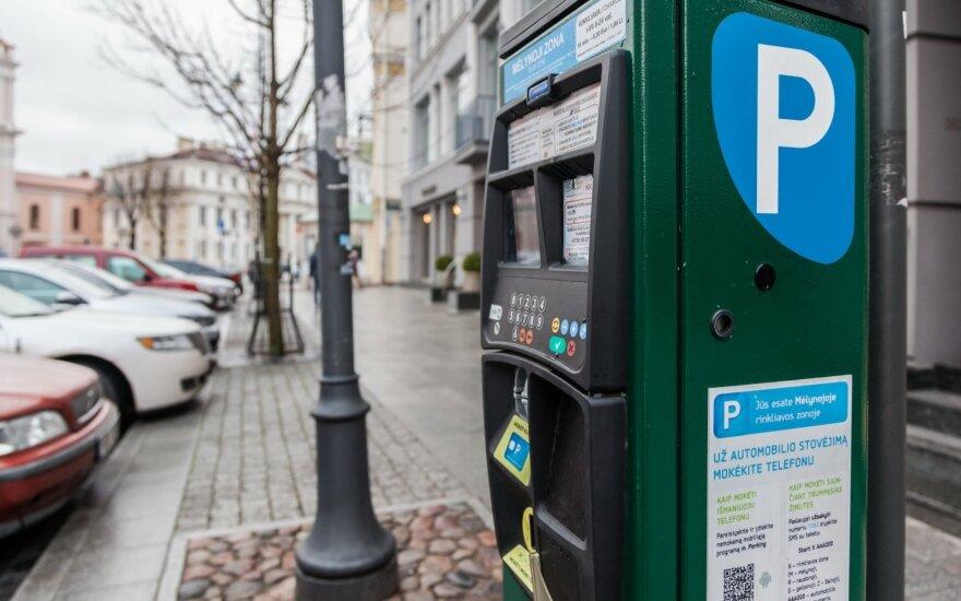 Automobilį Vilniaus centre pastatęs vairuotojas buvo nemaloniai nustebintas