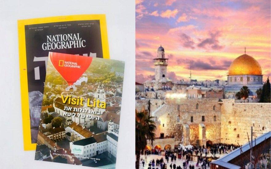 """Izraelyje – specialus """"National Geographic"""" leidinys apie Lietuvą"""
