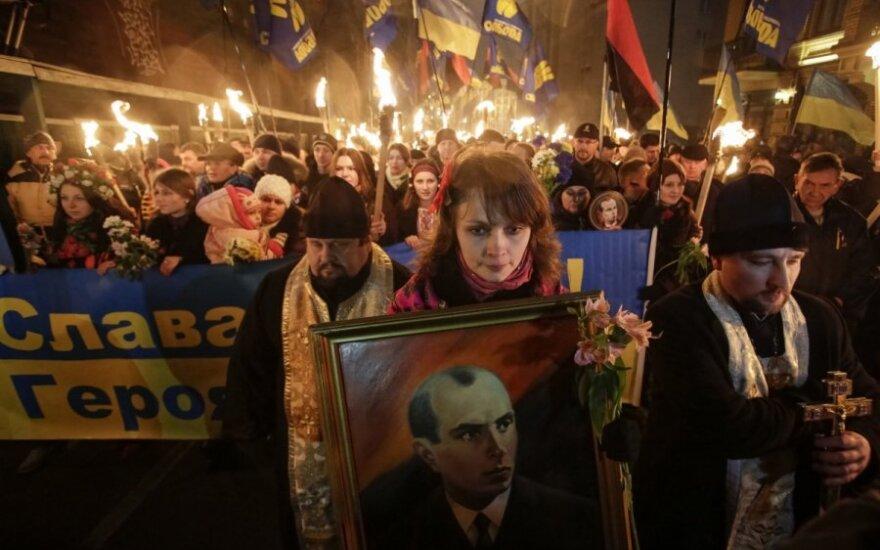 Kijeve minimos 105-osios Stepanp Banderos gimimo metinės