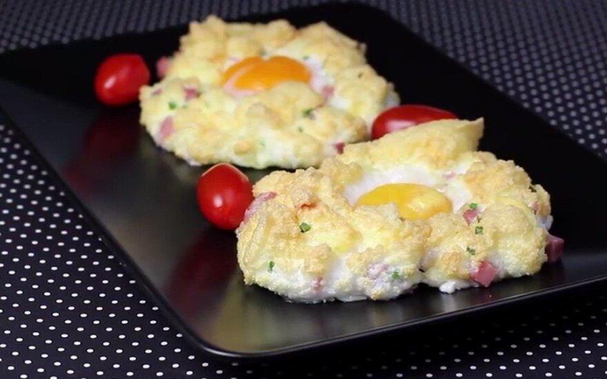 Ne tik Velykoms: kiaušiniai debesyse