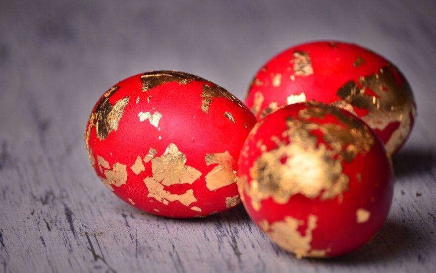 Mažai pastangų - pribloškiantis rezultatas: 5 kiaušinių marginimo būdai