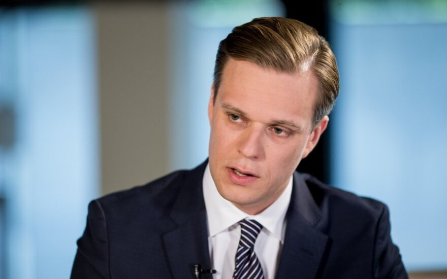 Gabrielius Landsbergis. The weakening state under Skvernelis's leadership