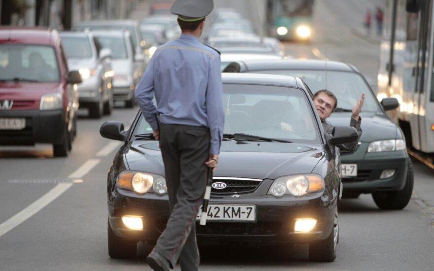 Automobilio konfiskacijos Baltarusijoje nebijos tik girti mašinų vagys