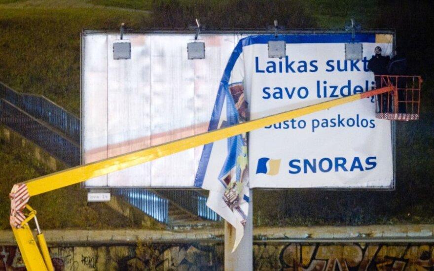 """""""Snoro"""" bankroto administratoriaus konsultantams - po 7 mln. Lt kas mėnesį"""