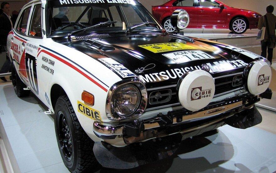 """1976 m. """"Mitsubishi Lancer"""""""