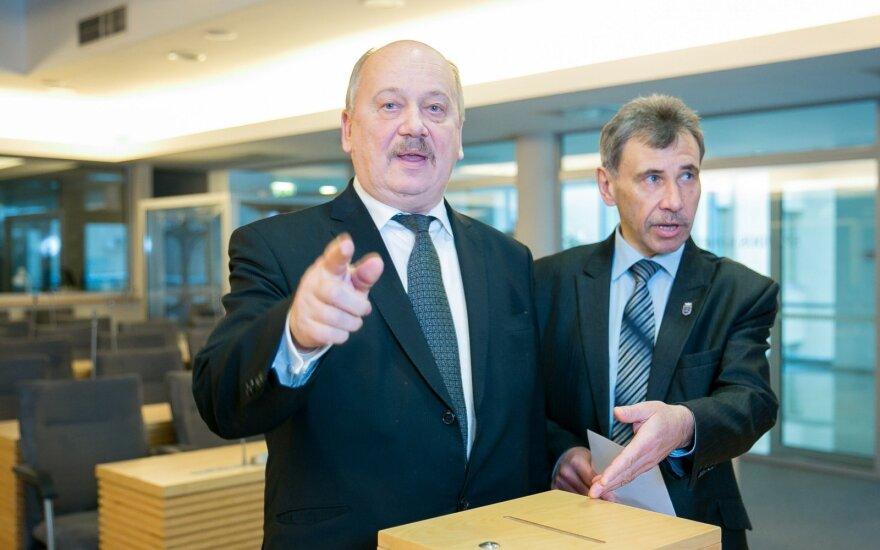 Michal Mackevič and Zbignev Jedinskij