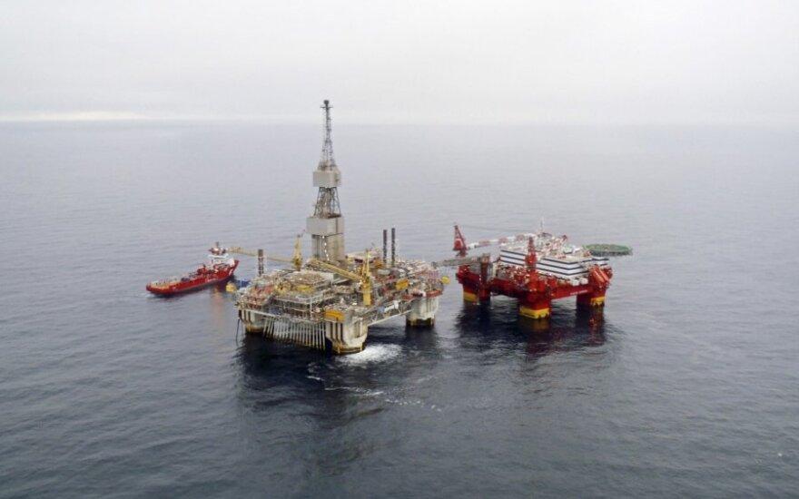 Naftos kaina krinta