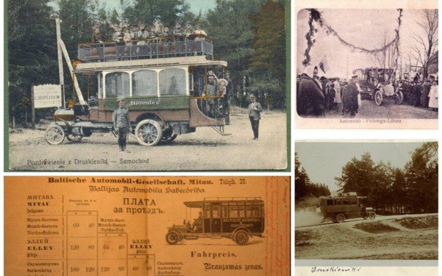Pirmieji autobusai