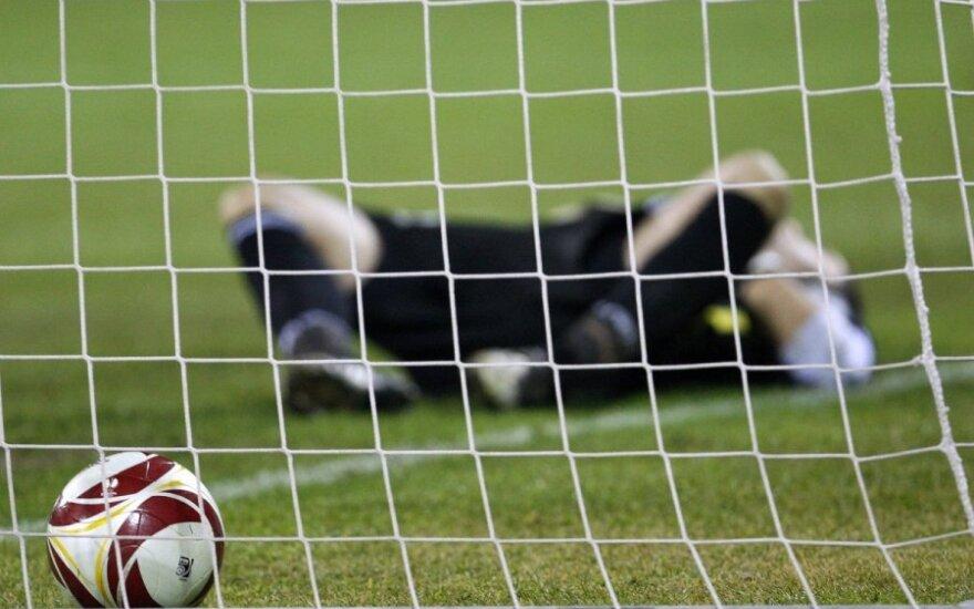 Futbolas, įvartis