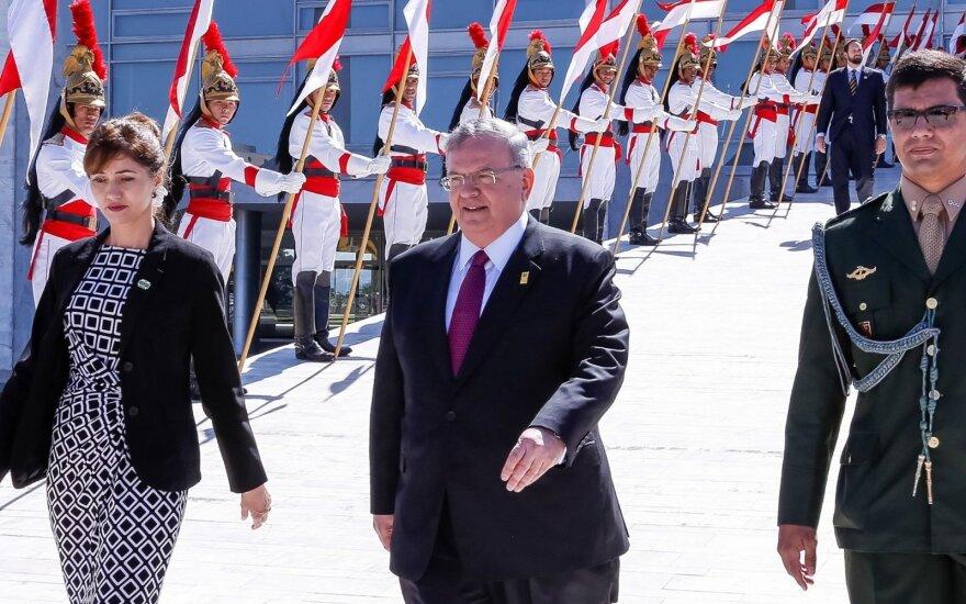 Graikijos ambasadorius Brazilijoje Kyriakos Amiridis
