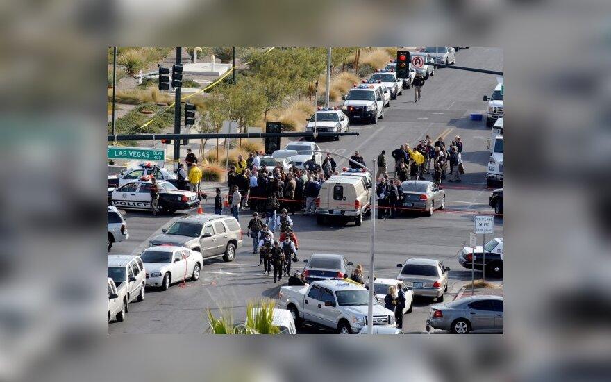 Las Vegase vyras už socialines išmokas kovojo ginklu