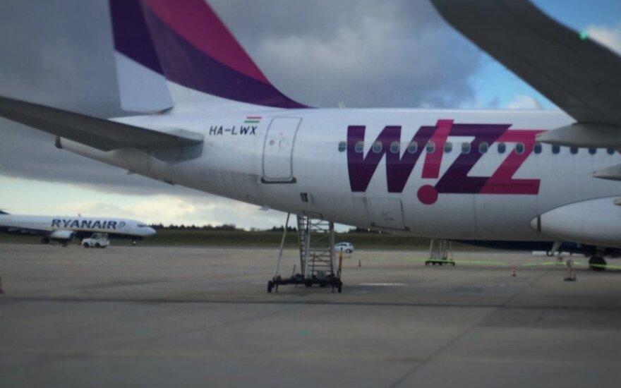 """""""Wizz Air"""" iš Vilniaus skraidins į Gdanską"""