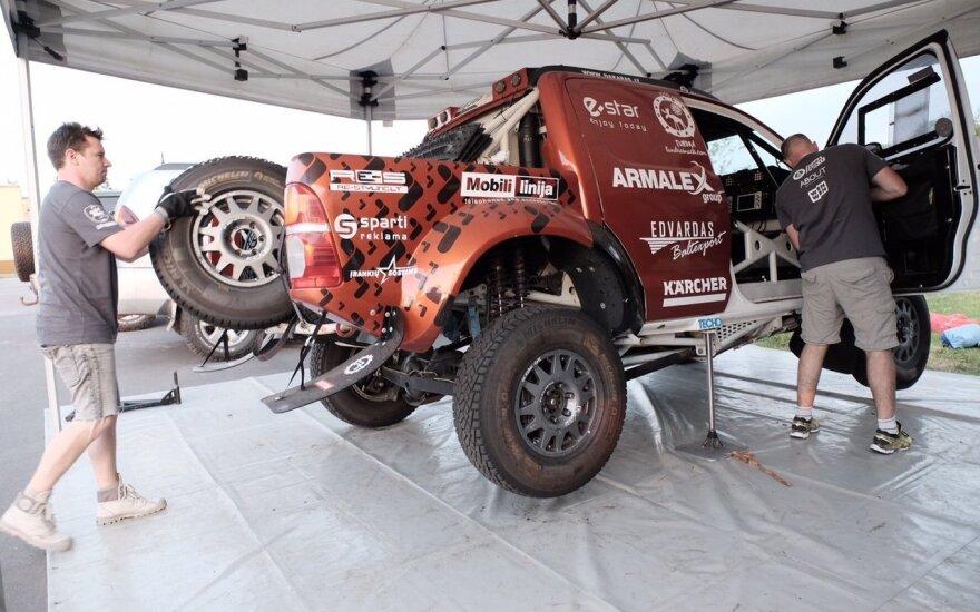 A. Juknevičius atliko paskutinius testus prieš Dakaro startą