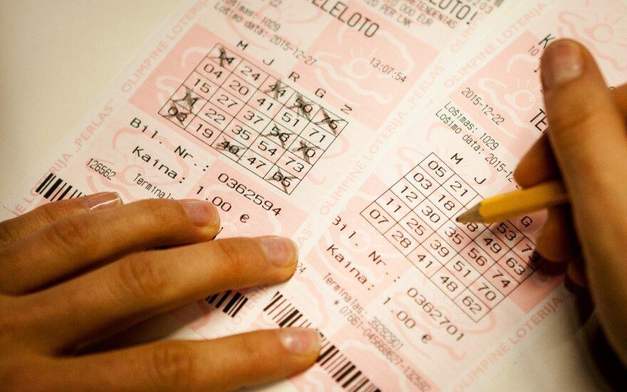 Nuo žmonos loterijos bilietus slėpęs jonavietis sulaukė savo dienos