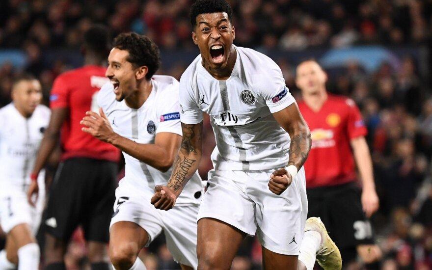 "UEFA Čempionų lygos aštuntfinalis: ""Manchester United"" - PSG"