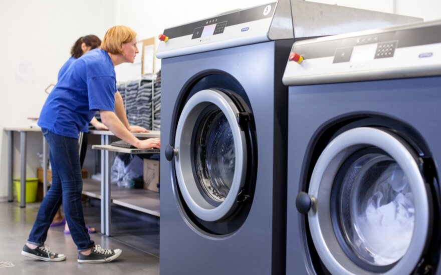 Drabužių skalbimas
